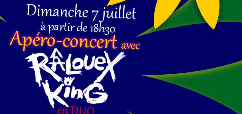 Apéro-concert dimanche 7 juillet