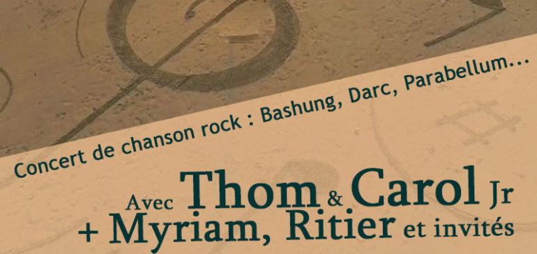 Concert « Chanson rock, en français »