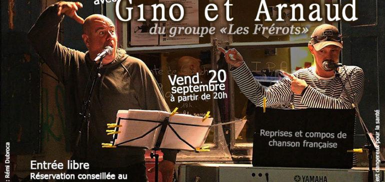 Gino et Arnaud en concert !
