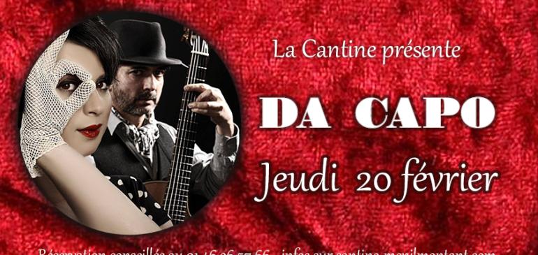 Chanson et jazz avec Da Capo